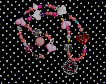 Number Gift Birthday Princess Girl Beaded Party Favor Necklace