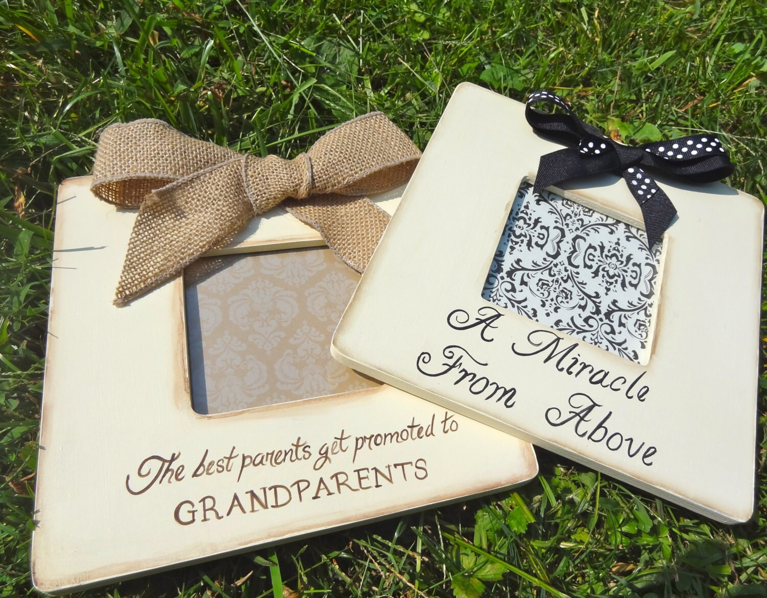 1 ultrasound sonogram godparent grandparent gift picture frame new sold by patonlanedesigns jeuxipadfo Gallery
