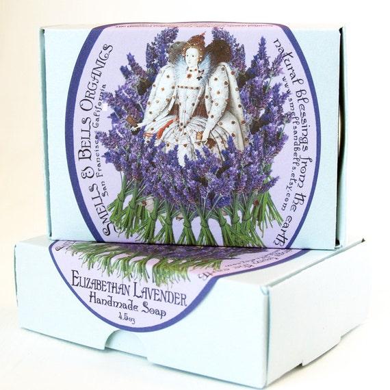 Elizabethan Lavender Organic Soap