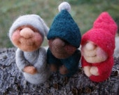 Pixies Needle Felting Kit with Video Tutorial on DVD