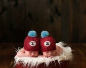 Thing 1 - Thing 2 Lace Twin Hat Set