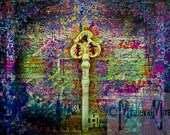 Greeting card - Ancient Key - Capturing Essence Collection