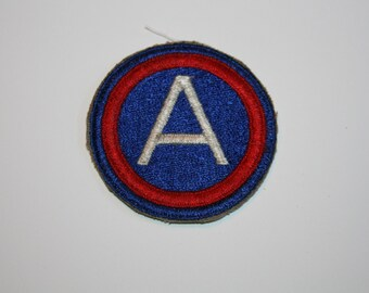 A Armed Forces   patch sew on anything 2 1/2 inches