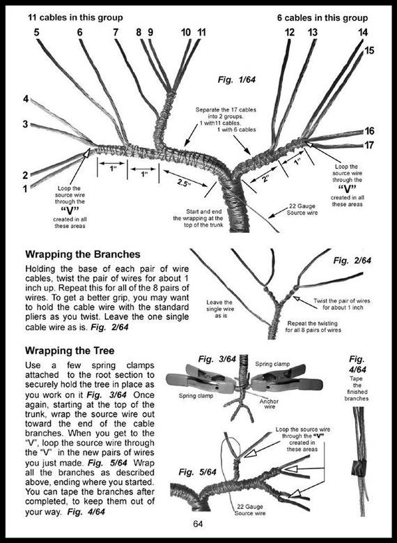 umbrella bonsai wire tree sculpture original by salvatore7