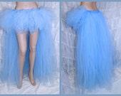 Pastel Cinderella Blue trashy bustle TuTu MTCoffinz ALL SIZES