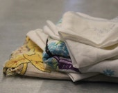 Bundle of Scrappy LINENS Happiness - Vintage and Antique - LSB1
