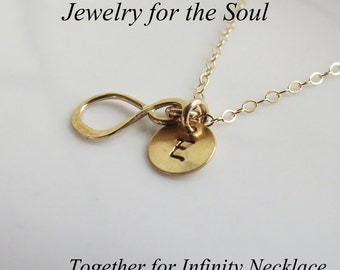Gold Infinity Necklace, Tiny Infinity Charm,Zen Necklace, Friendship Gift Necklace,Gold Fill Infinity Jewelry,Mother Jewelry, Charm Necklac