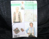 Uncut Simplicity 4930 Crazy Quilt  in a Day Sewing Pattern SEWBUSY12