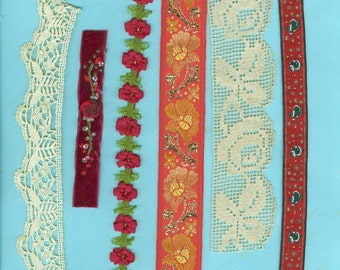 Imagine This Lace Ribbon Trim Bead Packet M Craft