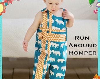 Run Around Romper Sewing  Pattern