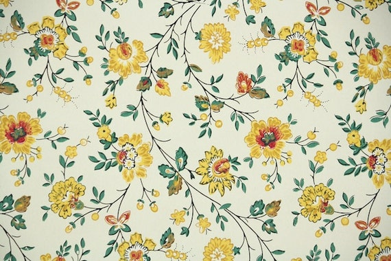 1940s vintage wallpaper by the yard floral wallpaper with for 90s wallpaper home