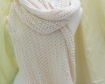 Silk and Bamboo shawl