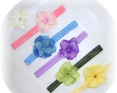 Sale 50% Off EVERYTHING 6 Flower Clips and 6 Interchangeable Headband