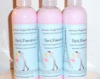 Paris Romance Smooth As Satin Hand and Body Lotion 9 Ounce Bottle (Sweet On Paris Type)