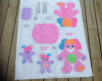 Vintage Fabric to Make Stuffed Dolls for Pancake Popple and Pretty Bit Popple