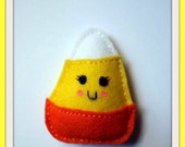 Candy Corn - Pin or Clip
