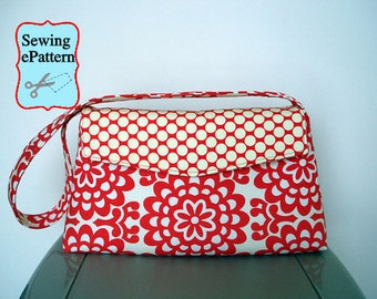 2- PDF Sewing Pattern, Sew Spoiled Versatile Bag  and Pincushion