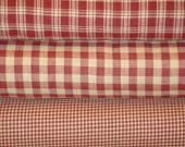 Homespun Fabric Wine Fat Quarter Bundle