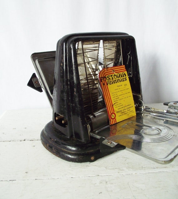 1920 Electric Toaster ~ Vintage s toaster fostoria bersted by theclassicbutterfly
