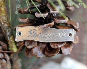 Peace Link Sterling Silver