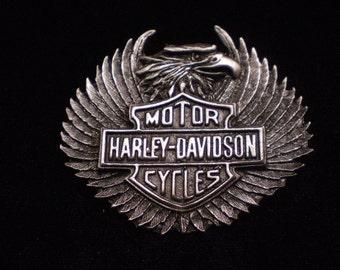 vintage harley davidson pin. EAGLE with upswept wingsFANTASTIC