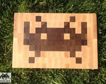 Space Invaders TM Cutting Board
