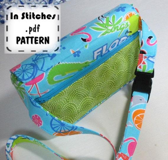 Franny PDF Fanny Pack Pattern EASY Instructions DIY Waist