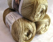 Boutique Unforgettable yarn in CAPPUCCINO, earth tones of brown tan and cream, worsted weight, Red Heart Yarns