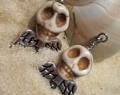 Winged Skellie Earrings
