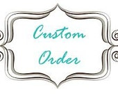Custom Order Appliqued Pink Cottage Wire Crate Cover for Layla