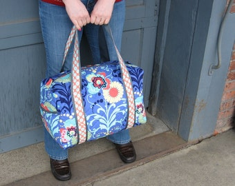 Carry On Duffle with Trolley Sleeve made to order in your fabric choice