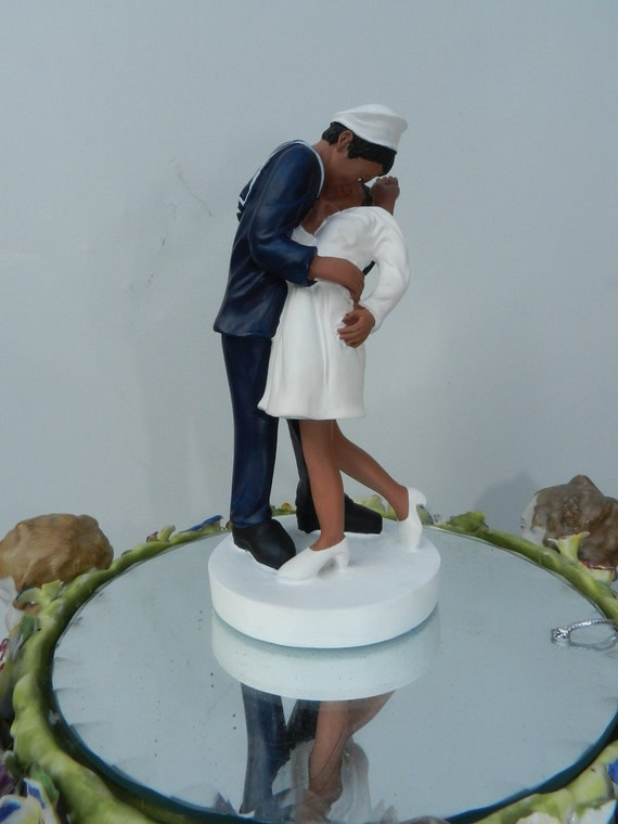 wedding cake toppers military navy usn navy sailor wedding cake topper 26540