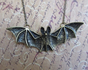 Bat out of hell necklace