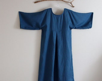 plus size kimono dolly linen dress