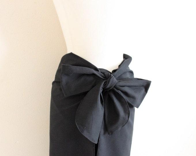 made to order obi waist cotton wrap pants / free size cotton wrap pants / casual wide leg pants / green burgundy navy wrap pants / harem