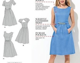 Simplicity 1652 Amazing Fit Dress Pattern