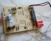 Small Door Bell Circuit Board Steampunk Supplies
