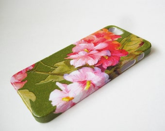 Pink Garden iPhone 3, 4/4S, 5/5S/SE, 5C, 6 or iPod Touch Case - Hard Shell Case