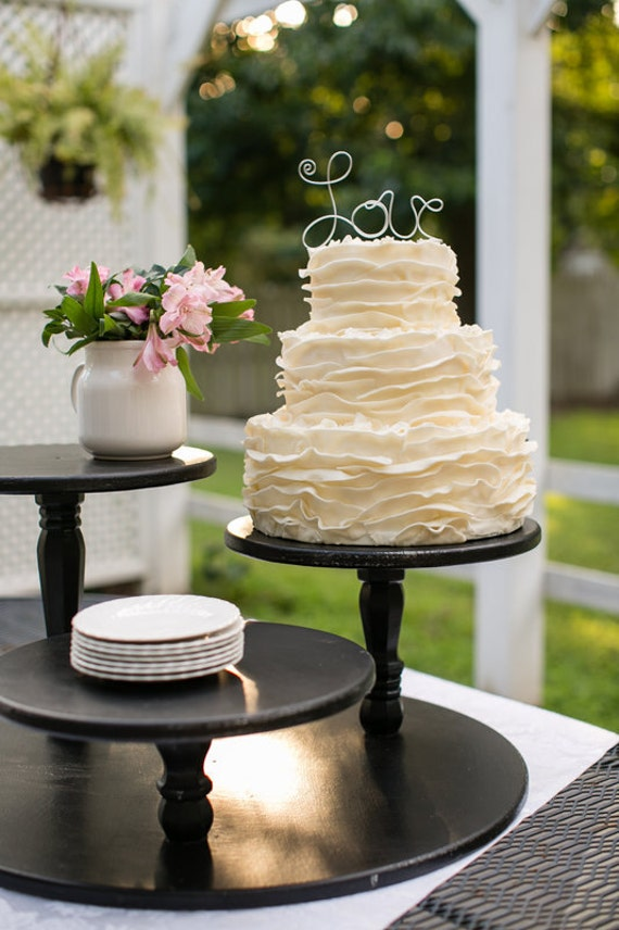 cupcakes wedding cake stands items similar to wedding cupcake stand pie 13151