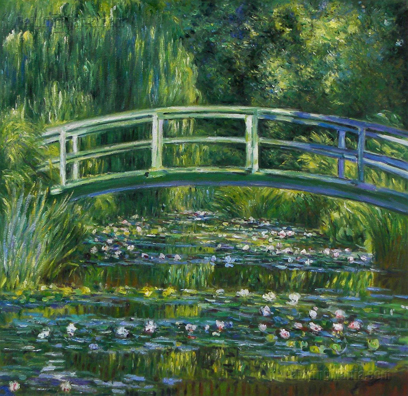 The Water-Lily Pond 1899 Claude Monet by PaintingMania on Etsy