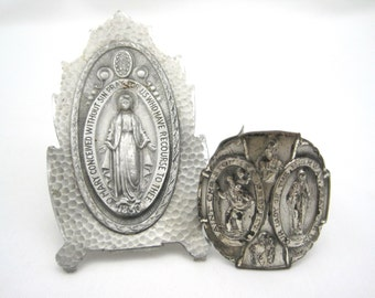 Vintage Religious Pieces - Holy Water Labels