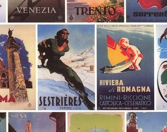 Made In Italy Authentic Florentine Paper Traditional Postcards Tassotti  T555