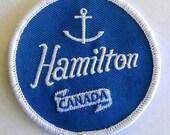 Hamilton Canada Anchor patch
