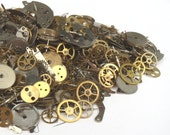 Watch GEARS STEAMPUNK 5g Old Parts Pieces Cogs Artist's Lot Steam Punk Movement
