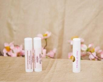 Custom Lip Balm Favors