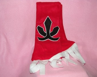 SAMURAI RANGER SCARF You Pick the Color!