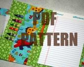 Crayon Bag w/ Zipper Pocket PDF Pattern -- INSTANT Download