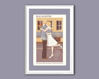 Movie poster Blue Valentine 12x18 inches print