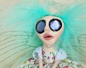 Netty The Fairy - Peg Doll Art Doll