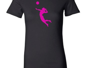 Women's volleyball t-shirt - MORE COLORS AVAILABLE